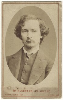 Algernon Charles Swinburne, by London Stereoscopic & Photographic Company - NPG x24806
