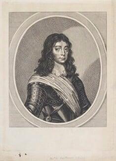 King Charles II, by William Faithorne - NPG D22694