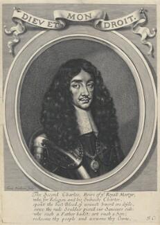 King Charles II, by William Faithorne - NPG D22695