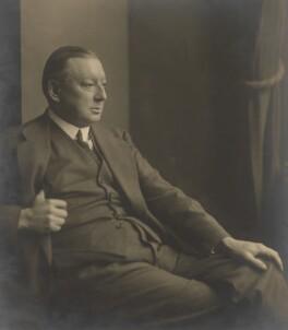 Edward Verrall Lucas, by Walter Benington, for  Elliott & Fry - NPG x94127