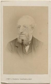 Edward Manson, by John & Charles Watkins - NPG Ax29655