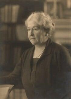 Hilda Runciman (née Stevenson), Viscountess Runciman, by Walter Benington, for  Elliott & Fry - NPG x94118
