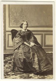 Caroline (née Vansittart), Lady Vaux of Harrowden, by Mayer Brothers - NPG Ax46290