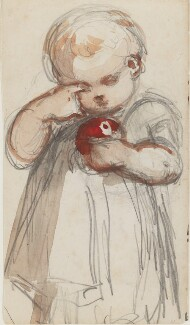 Unknown child, by Louisa Anne Beresford - NPG D23146(2)