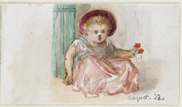 Unknown girl, by Louisa Anne Beresford - NPG D23146(5)