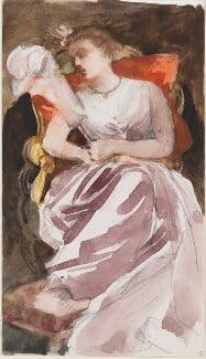 Unknown woman, by Louisa Anne Beresford - NPG D23146(13)