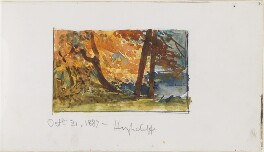 Highcliffe landscape, by Louisa Anne Beresford - NPG D23146(21)
