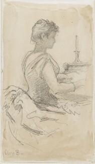 Unknown woman, by Louisa Anne Beresford - NPG D23146(23)
