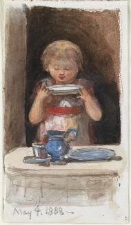 Unknown child, by Louisa Anne Beresford - NPG D23146(42)
