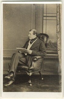Frederick Thesiger, 1st Baron Chelmsford, by A.J. (Arthur James) Melhuish, 1860s - NPG Ax46333 - © National Portrait Gallery, London