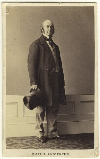 James Talbot, 4th Baron Talbot de Malahide, by Mayer Brothers, 1860s - NPG Ax46356 - © National Portrait Gallery, London