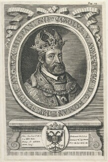 Charles V, Holy Roman Emperor, by William Faithorne - NPG D22698