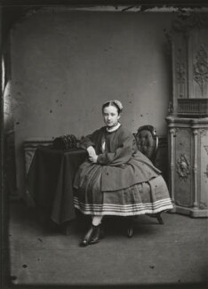 Adelaide Fanny Louise Barber (née Bassano), by Alexander Bassano - NPG x150652