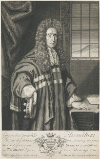 Henry Hare, 2nd Baron Coleraine, by William Faithorne, by  George Vertue - NPG D22701