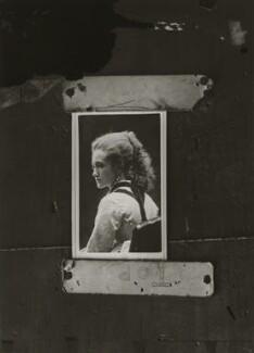 Adelaide Fanny Louise Barber (née Bassano), by Alexander Bassano - NPG x150654