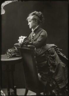 Adelaide Fanny Louise Barber (née Bassano), by Alexander Bassano - NPG x150661