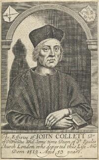 John Colet, by William Faithorne - NPG D22703
