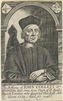 John Colet, by William Faithorne - NPG D22705