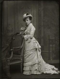Adelaide Fanny Louise Barber (née Bassano), by Alexander Bassano - NPG x150662