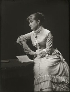 Adelaide Fanny Louise Barber (née Bassano), by Alexander Bassano - NPG x150663