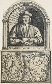 John Colet, by John Sturt, after  Unknown artist - NPG D22704