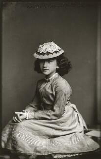 Camilla Teresa ('Lily') Serjeant (née Bassano), by Alexander Bassano - NPG x150665