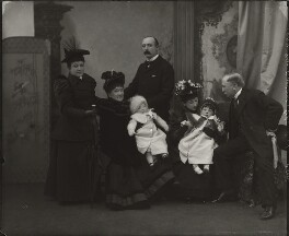 The Bassano family, by Alexander Bassano - NPG x150676