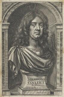 Abraham Cowley, by William Faithorne - NPG D22708