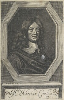 Abraham Cowley, by William Faithorne, after  Sir Peter Lely - NPG D22710