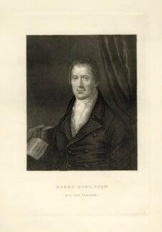 Henry Hunt, by Unknown artist - NPG D20838