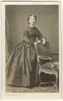 Lady Augusta Browne, by Numa Blanc & Cie - NPG Ax46406