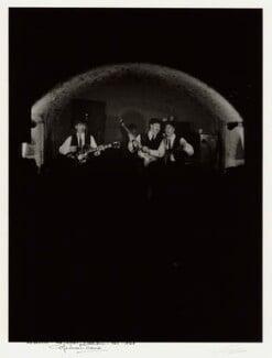 The Beatles (George Harrison; Ringo Starr; Paul McCartney; John Lennon), by Michael Ward, 20 February 1963 - NPG x128563 - © Michael Ward Archives
