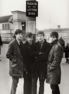 The Beatles (Paul McCartney; Ringo Starr; John Lennon; George Harrison), by Michael Ward - NPG x128565