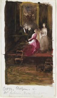 Mary Cochran; Nora Thompson, by Louisa Anne Beresford - NPG D23146(60)