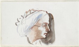 Louisa Percy (née Drummond), Duchess of Northumberland, by Louisa Anne Beresford - NPG D23146(62b)