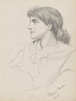 (Jenny Julia) Eleanor Marx (later Marx-Aveling), by Grace Black (later Grace Human) - NPG 6771