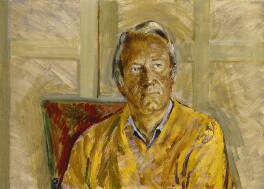 Sir Edward Heath, by Derek Hill - NPG 6914