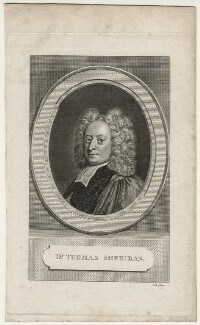 Thomas Sheridan, by Thomas Cook, after  Unknown artist - NPG D23149