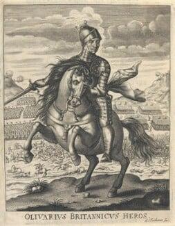 Oliver Cromwell, by William Faithorne - NPG D22715