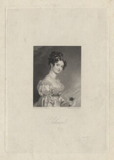 Selina (née Meade), Countess Clam-Martinics, by Charles Theodosius Heath, after  Sir Thomas Lawrence - NPG D20840