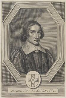 Edmund Elys, by William Faithorne - NPG D22723