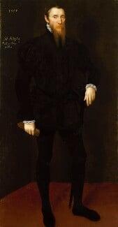 John Astley, by Unknown Netherlandish artist, 1555 - NPG 6768 - © National Portrait Gallery, London