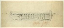 Study of Breton (?) Gate, by George Estall - NPG D23162