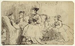 Five unknown women, by George Estall - NPG D23164