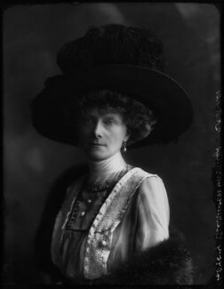 Mary Frances (née Nevill), Marchioness of Abergavenny, by Bassano Ltd, 21 June 1911 - NPG x37456 - © National Portrait Gallery, London