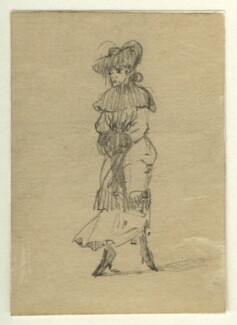 Unknown woman, by George Estall - NPG D23167