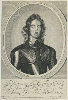 Thomas Fairfax, 3rd Lord Fairfax of Cameron, by William Faithorne, published by  Thomas Hinde, after  Robert Walker - NPG D22730
