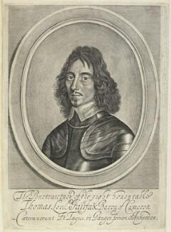 Thomas Fairfax, 3rd Lord Fairfax of Cameron, by William Faithorne, after  Robert Walker - NPG D22732