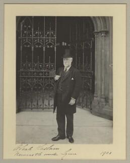 Sir Alfred Seale Haslam, by Benjamin Stone - NPG x20367
