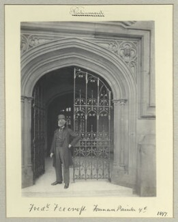 Frederick Foxcroft, by Benjamin Stone - NPG x44674